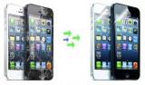 Inlocuire Geam Sticla iPhone 5s Negru