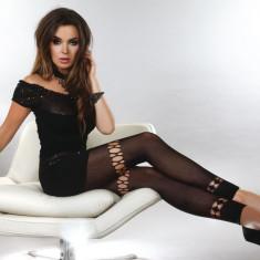 Livia Corsetti 131 - Accesorii - Ciorapi Dama cu Model - Lenjerie sexy dama LIVIA CORSETTI, Marime: Marime universala, Negru