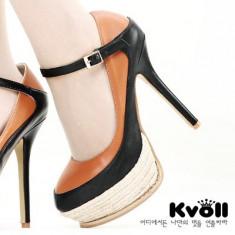CH1540 Incaltaminte - Pantofi Dama - Pantof dama, Marime: 39, Cu toc