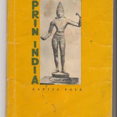 (C6525) ILYA EHRENBURG - PRIN INDIA, EDITURA CARTEA RUSA, 1957 - Carte de calatorie