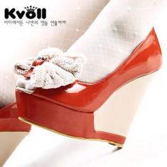 CH1098 Incaltaminte - Pantofi cu platforma - Pantof dama, Marime: 37