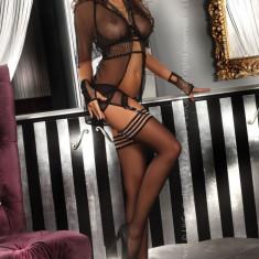 Livia Corsetti 8 Lenjerie desu din plasa - Lenjerie sexy dama LIVIA CORSETTI, Marime: L