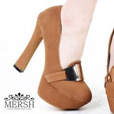 CH1493 Incaltaminte - Pantofi Dama - Pantof dama, Marime: 37, 39, Cu toc