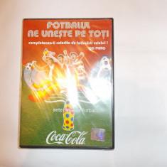 FOTBALUL NE UNESTE PE TOTI . DVD - DEL PIERO, DVD SIGILAT . - DVD fotbal