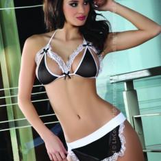 Livia Corsetti 197 Costum de menajera sexi cu sort - Lenjerie sexy dama LIVIA CORSETTI, Marime: S/M