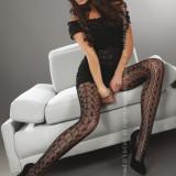 Livia Corsetti232-1 Ciorapi sexy cu model din plasa