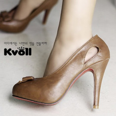Ch411 Incaltaminte - Pantofi Dama - Pantof dama, Marime: 36, Cu toc