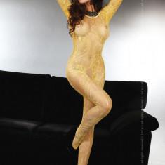 Livia Corsetti 54 - Bodystocking Dama Sexi - Lenjerie sexy dama LIVIA CORSETTI, Marime: Marime universala, Galben
