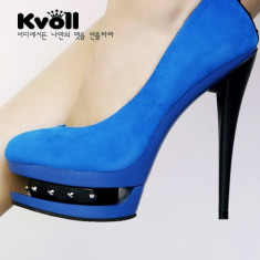 CH698 Incaltaminte - Pantofi Dama - Pantof dama, Marime: 38, Cu toc
