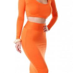Y242-19 Compleu sexy top si fusta - Costum dama, Marime: M, M/L, S/M