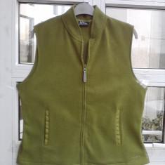 Vesta dama polar fleece firma NY Jeans, M -MASURATI !, Marime: M, Culoare: Khaki, Poliester