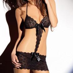 K170-1 Lenjerie sexy din dantela, cu aspect deux pieces - Dres, Marime: S/M, M