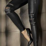 CL315-1 Colanti sexy cu fermoare pe genunchi