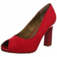 GDY110-3 Pantofi decupati cu toc - Pantof dama Tamaris, Marime: 37