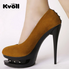 CH697 Incaltaminte - Pantofi Dama - Pantof dama, Marime: 36, 37, 38, 39, Cu toc