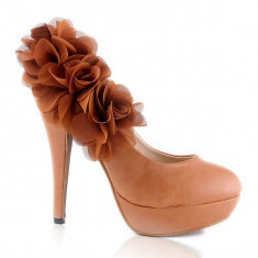 CH1017 Incaltaminte - Pantofi Dama - Pantof dama, Marime: 36, Cu toc
