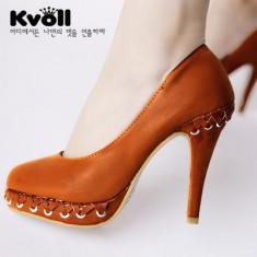 CH710 Incaltaminte - Pantofi Dama - Pantof dama, Marime: 37, Cu toc