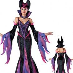 T414 Costum Halloween Vrajitoare - Maleficent, Marime: M