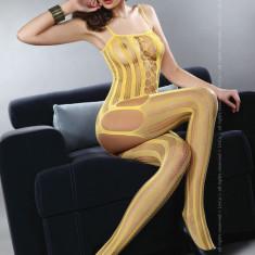 Livia Corsetti 64-999 Bodystocking cu portjartier atasat - Lenjerie sexy dama LIVIA CORSETTI, Marime: Marime universala