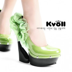 CH1425 Incaltaminte - Pantofi Dama - Pantof dama, Marime: 36, 38, Cu platforma