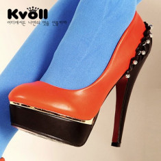 CH1634 Incaltaminte - Pantofi Dama - Pantof dama, Marime: 38, Cu toc