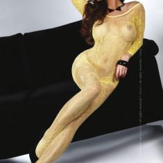 Livia Corsetti 58- Bodystocking Femei Sexi - Lenjerie sexy dama LIVIA CORSETTI, Marime: Marime universala, Galben