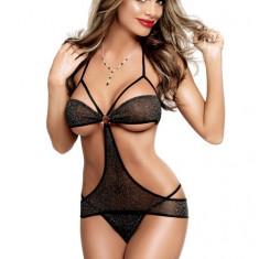 D105 Lenjerie dama sexy cu decupaje - Body dama, Marime: M