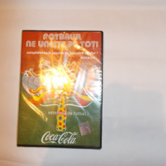 FOTBALUL NE UNESTE PE TOTI . DVD - RONALDO, DVD SIGILAT . - DVD fotbal