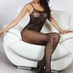 Livia Corsetti 281-1Lenjerie bodystocking cu bretele subtiri - Lenjerie sexy dama LIVIA CORSETTI, Marime: Marime universala