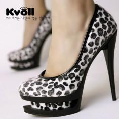 CH701 Incaltaminte - Pantofi Dama - Pantof dama, Marime: 36, 38, Cu toc
