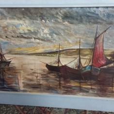 Tablou-Barci cu vele