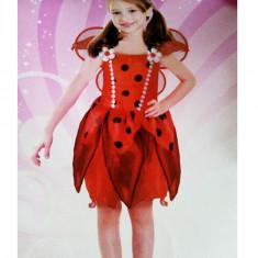 CLD109-3 Costum tematic copii, model buburuza - Costum copii