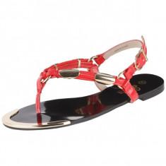 GDY79 Sandale de vara accesorizate - Sandale dama, Marime: 39