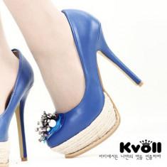 CH1582 Incaltaminte - Pantofi Dama - Pantof dama, Marime: 36, 37, 38, Cu toc