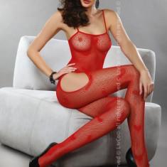 Livia Corsetti 297-3 Lenjerie catsuit cu decupaj pe coapse - Lenjerie sexy dama LIVIA CORSETTI, Marime: Marime universala