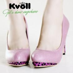 Ch351 Incaltaminte - Pantofi Dama - Pantof dama, Marime: 36, Cu toc