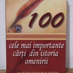 CELE MAI IMPORTANTE CARTI DIN ISTORIA OMENIRII