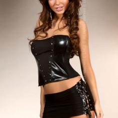 Livia Corsetti 104 Costum de animatie - corset accesorizat cu nituri si fusta - Lenjerie sexy dama LIVIA CORSETTI, Marime: M