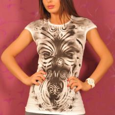 SiS60 Tricou cu Imprimeu - Tricou dama Sisley, Marime: S