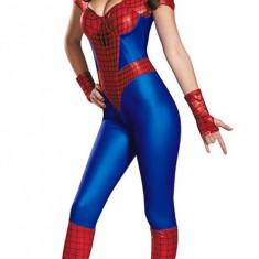 G313 Costum Halloween Spidergirl, Marime: M, S/M