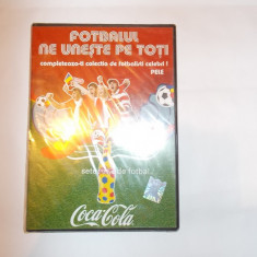 FOTBALUL NE UNESTE PE TOTI . DVD - PELE, DVD SIGILAT . - DVD fotbal