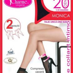 GAT13-885 Ciorapi Charme Monica 1/4 tip sosete, set 2 perechi - Sosete dama