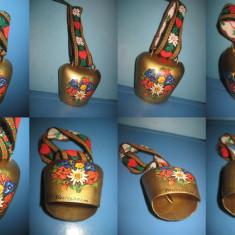 Talanga Clopotel Vintage RUCLESHEIM Germania metal colorat, stare buna.