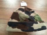 Fes flece camuflaj - 15 lei