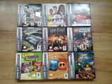 Vand 7 jocuri complete GAMEBOY ADVANCE  - GBA  ( lego  FIFA CARS etc ), Sporturi