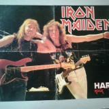 Poster  Iron Maiden   /  Hard Rock
