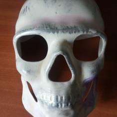 Masca craniu, cap de mort din material plasic rigid