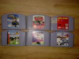 Vand 6 jocuri NINTENDO 64 - N64  ( POKEMON FIFA F1 ETC)