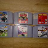 Vand 6 jocuri NINTENDO 64 - N64 ( POKEMON FIFA F1 ETC), Sporturi
