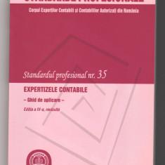 (C6485) STANDARDUL PROFESIONAL 35, EXPERTIZE CONTABILE, GHID DE APLICARE - Carte Contabilitate